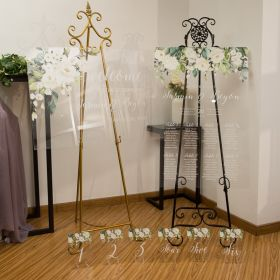 Green White Acrylic Signs Package for Garden Wedding Ceremony CSP007