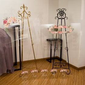 Pink Floral Acrylic Wedding Sign Package for ceremony reception CSP009